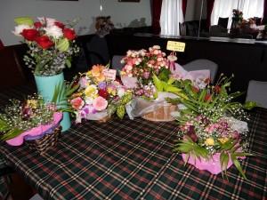 たくさんお花を頂きました